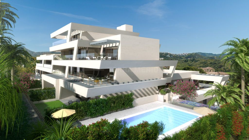 Marbella East, Refined off plan second floor apartment within walking distance to the golf club for sale in Rio Real, Marbella East
