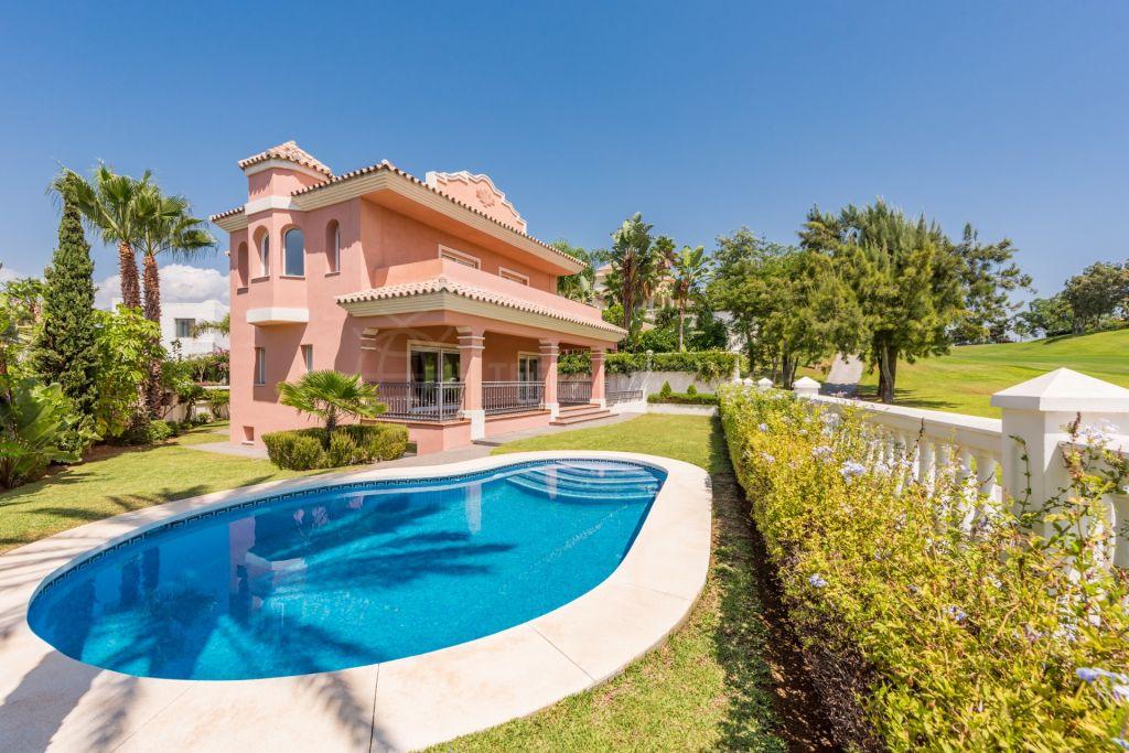 San Pedro de Alcantara, 4 bedroom villa for sale, front line golf, Guadalmina Alta, Marbella
