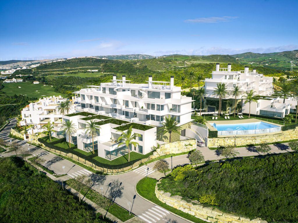 Casares, Modern and brand new townhouse for sale in Terrazas de Cortesin Seaviews, Casares
