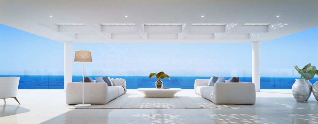 Estepona, Brand new luxury beachfront penthouse for sale in EMARE, New Golden Mile, Estepona