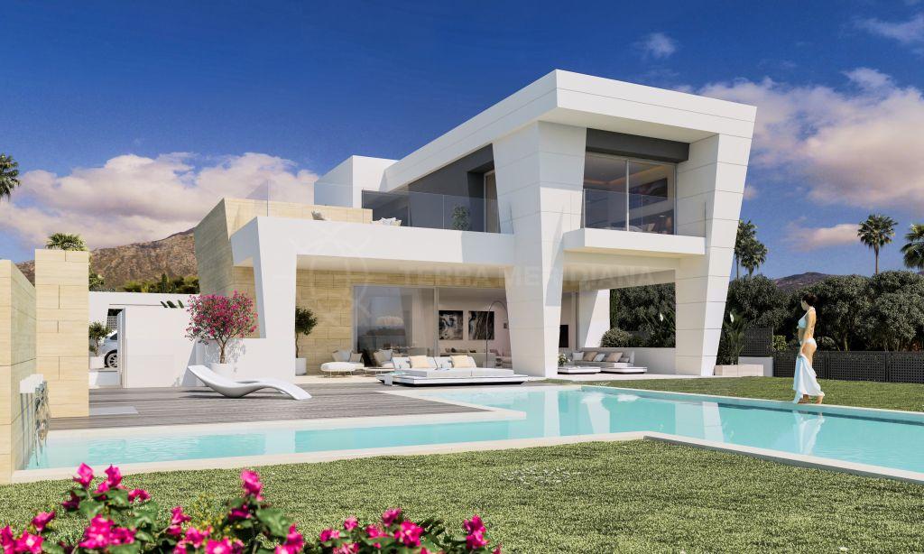 Marbella Golden Mile, Exclusive and elegant villa for sale in Rocio de Nagüeles, Marbella Golden Mile