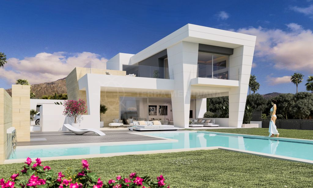 Marbella Golden Mile, Exclusive and elegant villa for sale in Rocio de Nagüeles, Marbella Golden Mile