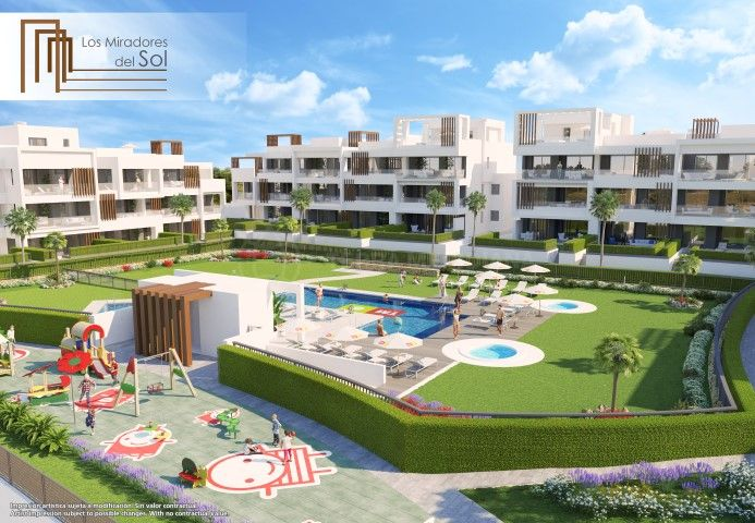 Estepona, Superb brand new penthouse apartment with large solarium for sale in Los Miradores del Sol, Estepona