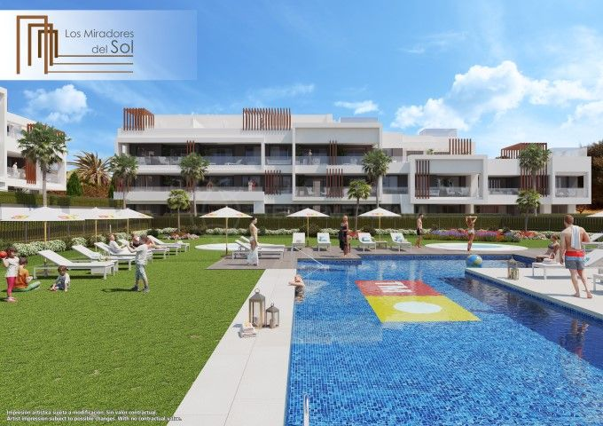 Estepona, Lovely brand new ground floor apartment with private garden for sale in Los Miradores del Sol, Estepona