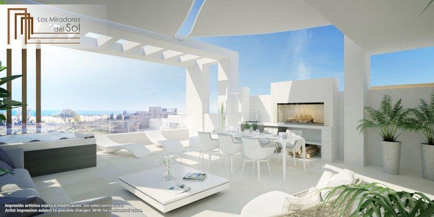 Estepona, Gorgeous brand new first floor apartment for sale in Los Miradores del Sol, Estepona