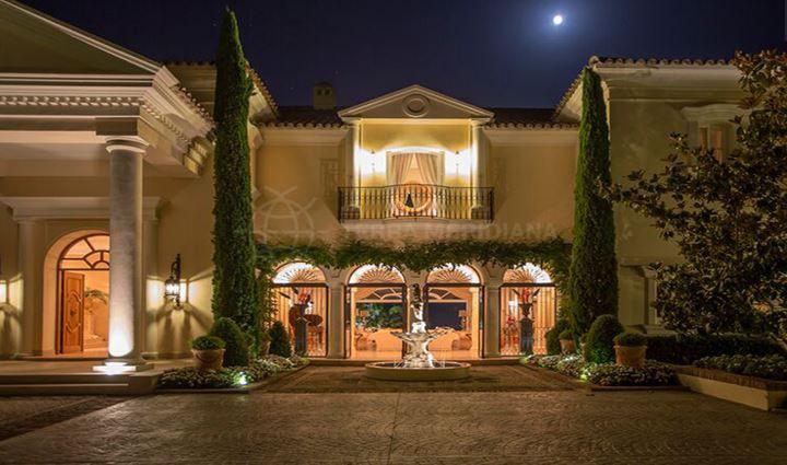 Benahavis, Palatial Italian style villa within the highly prestigious gated community of La Zagaleta, Benahavis