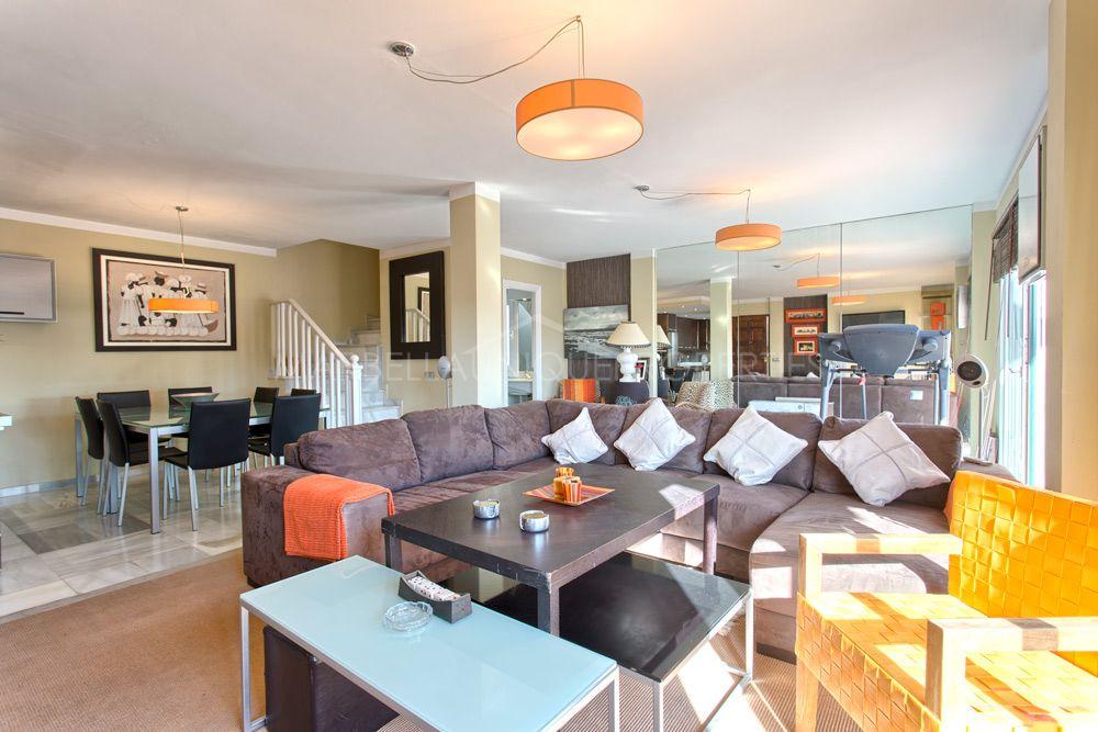 Duplex Penthouse for sale in Nueva Andalucia