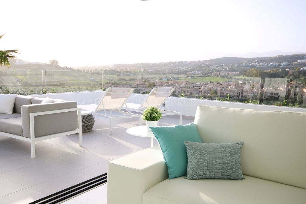 Magnificent designer duplex apartment full of natural light in Marbellas New Golden Mile