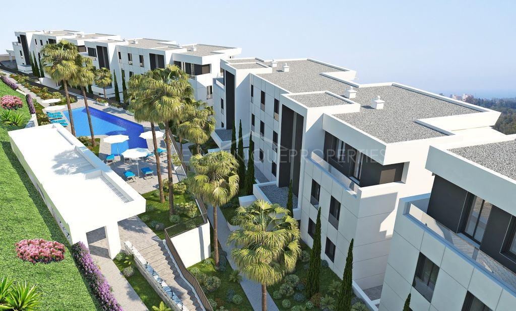 Contemporary brand new 3 bedroom apartment in Nueva Andalucía