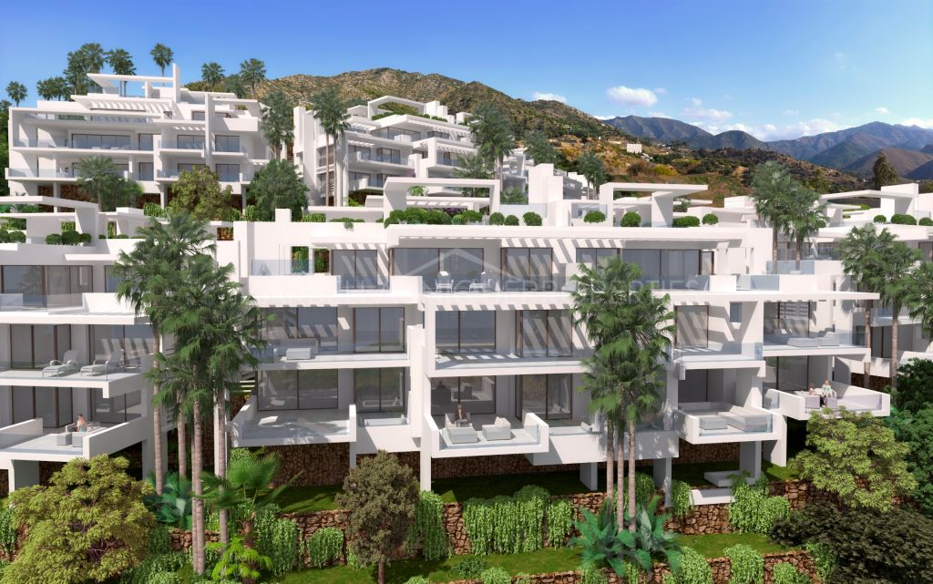 Stunning brand new 3 bedroom apartment in Ojen