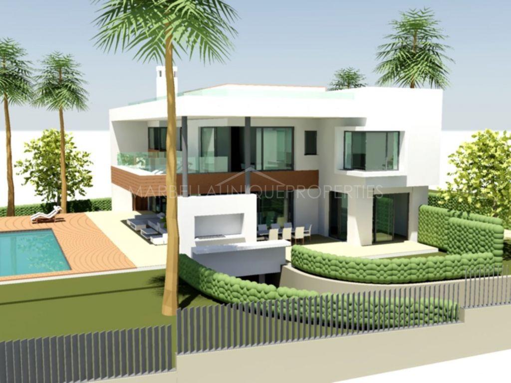 Great plot opportunity for building 6 villas in Elviria