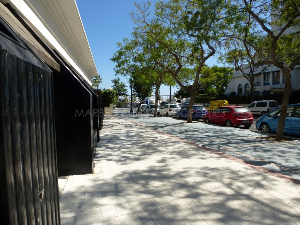 A huge commercial premises beachside in Marbella