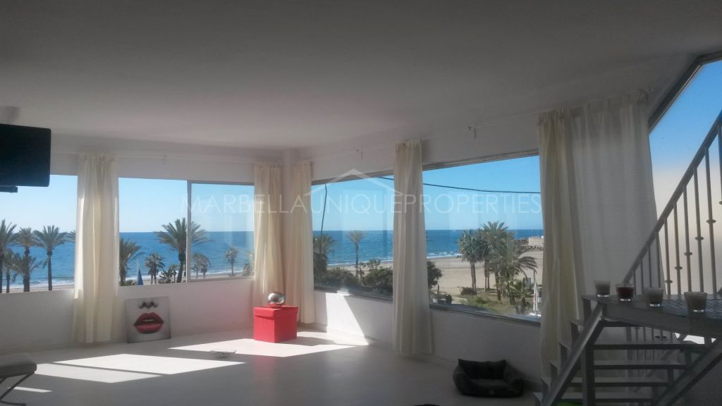 Frontline beach commercial premises in Marbella