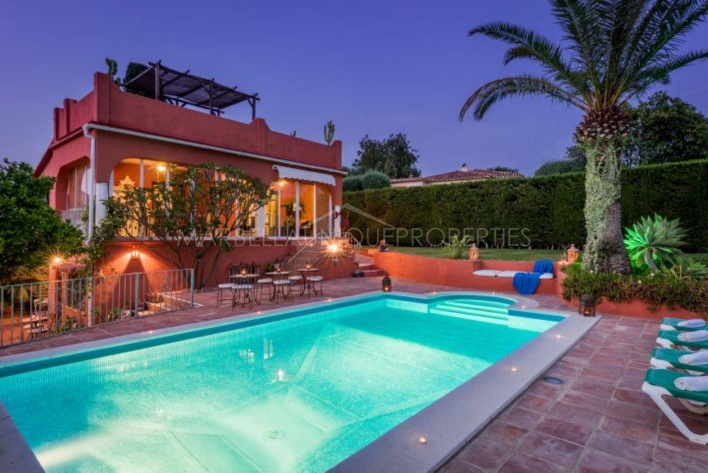 Andalusian style 7 bedroom villa in El Real Panorama, Marbella East