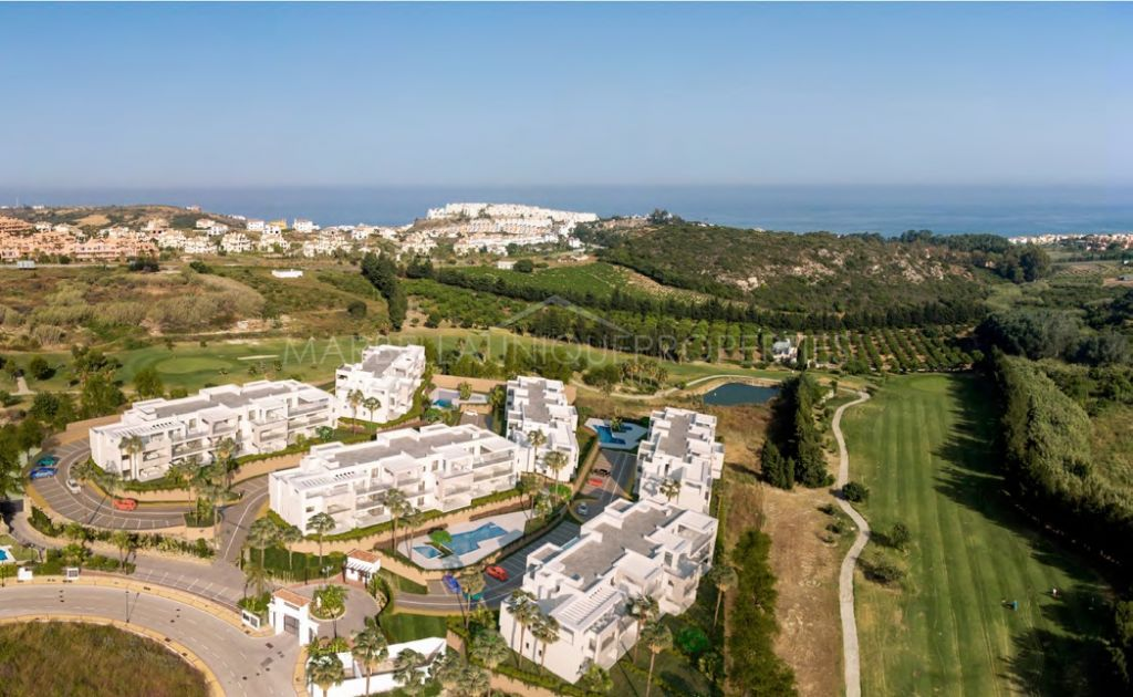 Modern new build complex with a lovely ground floor apartment in Casares
