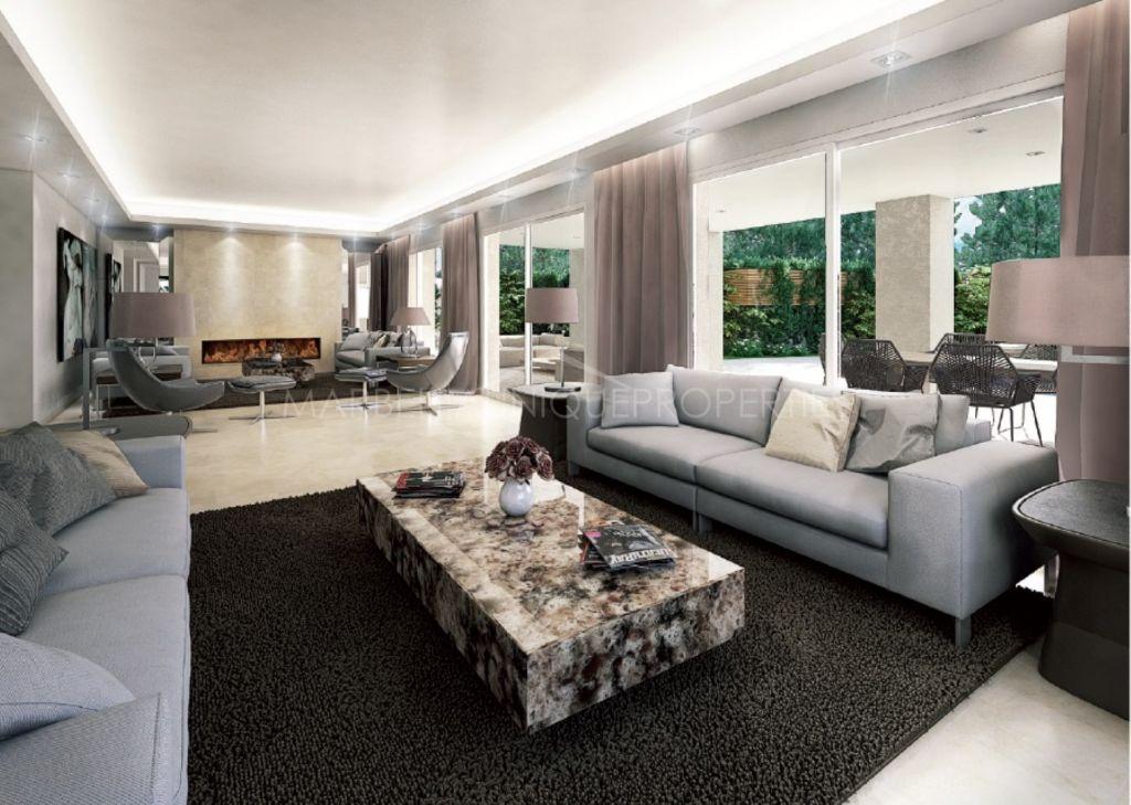 A spectacular brand new 7 bedroom villa in Las Torres de Marbella Club
