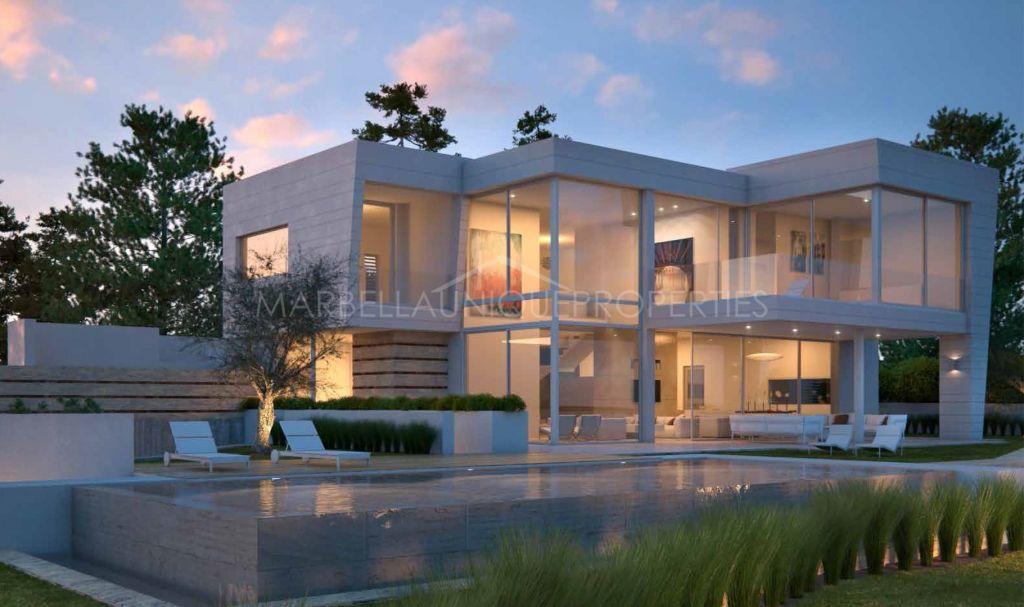 Brand new modern villa in Santa Clara Golf, Marbella