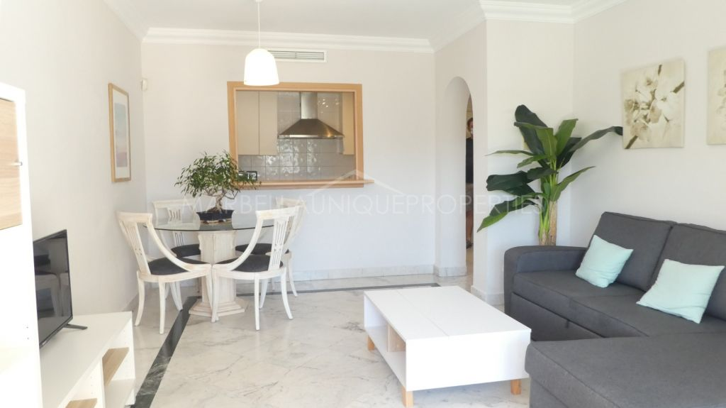 Lovely west facing apartment in Marina Banus, Puerto Banus