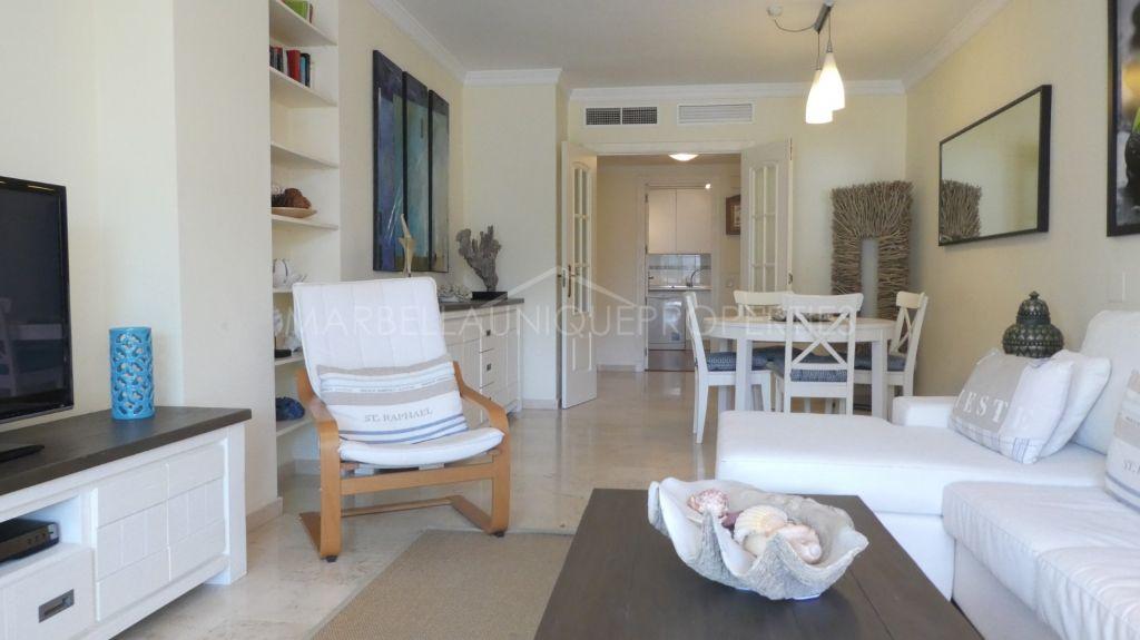 A beautiful west facing 2 bedroom beachside apartment in Terrazas de Banus, Puerto Banus.