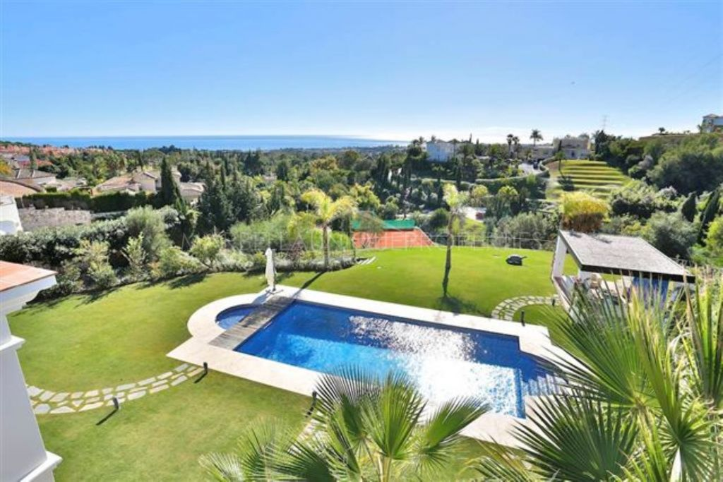 Exclusive 7 bedroom designer villa in Marbella Hill Club, Golden Mile