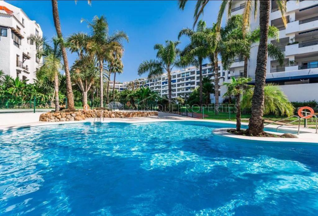 A lovely 3 bedroom ground floor apartment in Jardines del Puerto, Puerto Banus, Marbella.