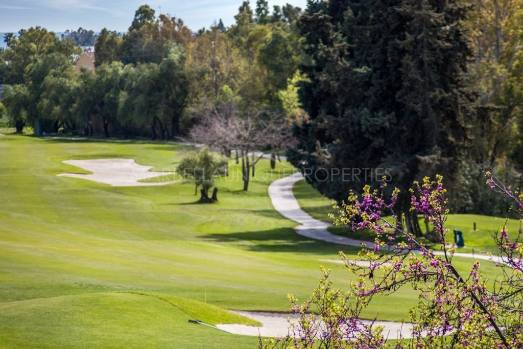 A charming front line golf 4 bedroom villa in Guadalmina alta