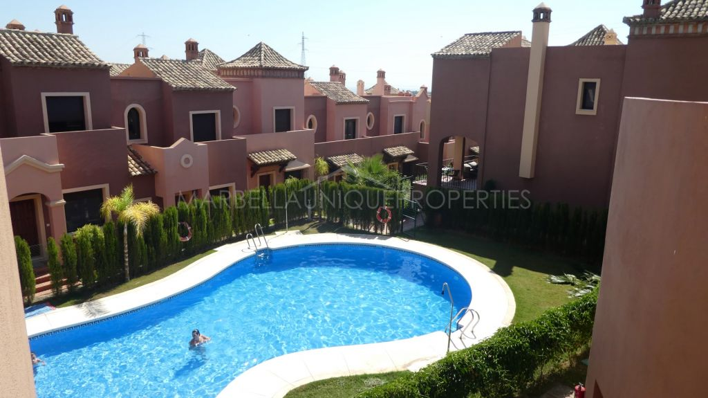 Wonderful Mediterranean townhouse near Estepona Golf