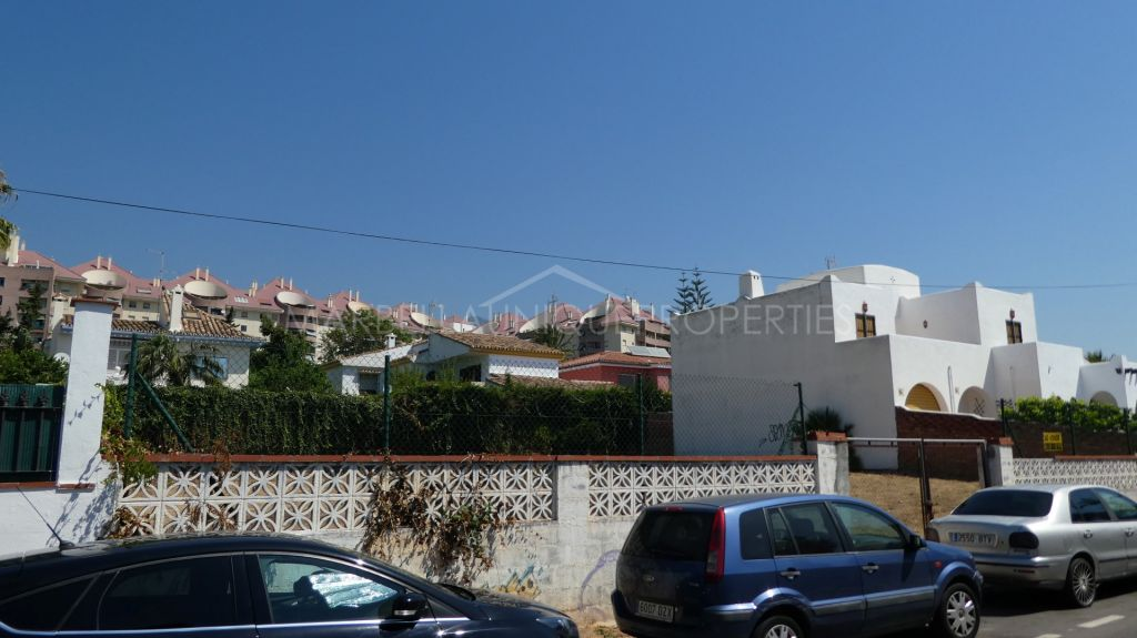 A fantastic plot right in Marbella centre