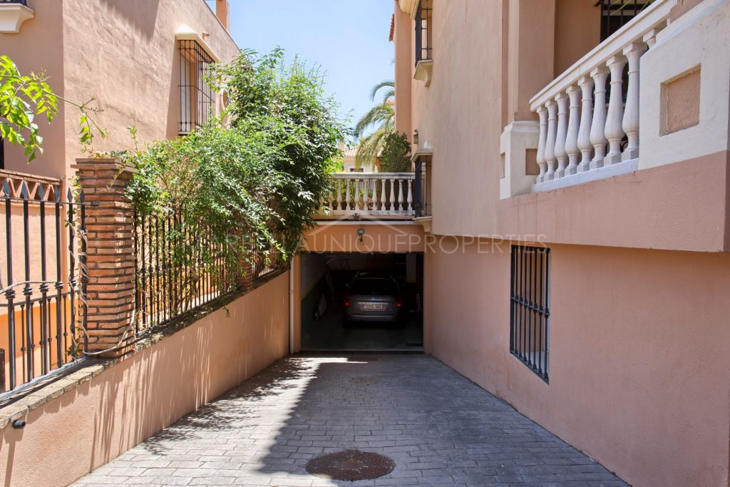 A stylish family villa in Marbella town centre