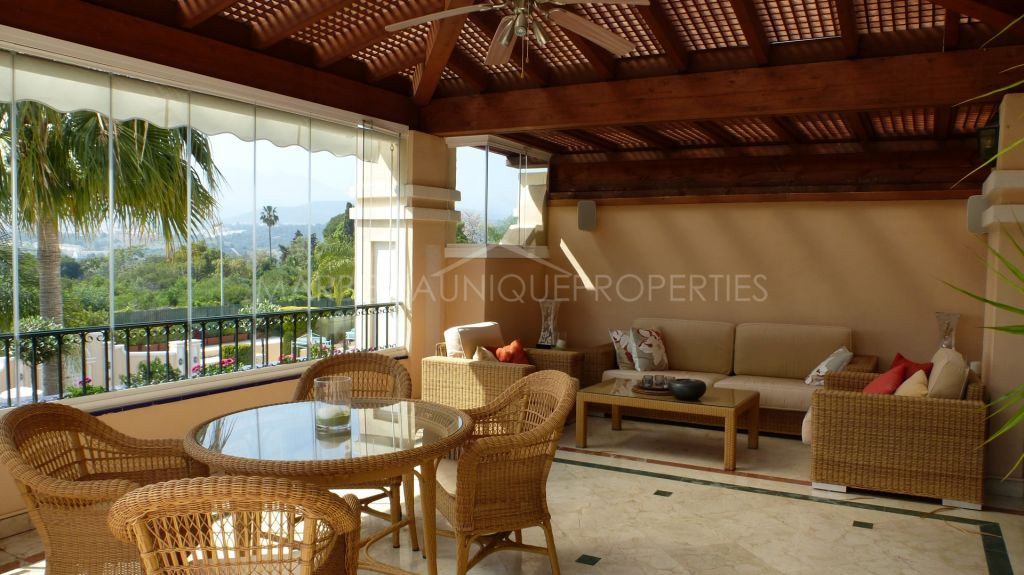 Stunning views from this duplex penthouse in Lomas de Sierra Blanca