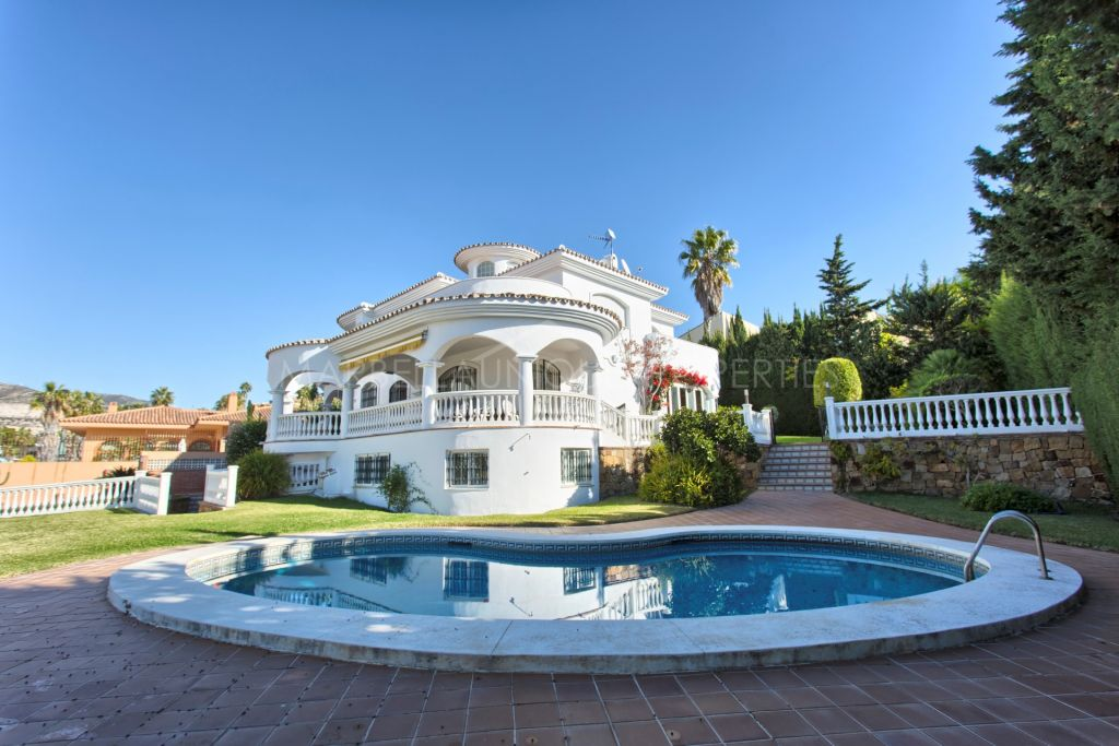 A large family villa in Benalmadena Costa