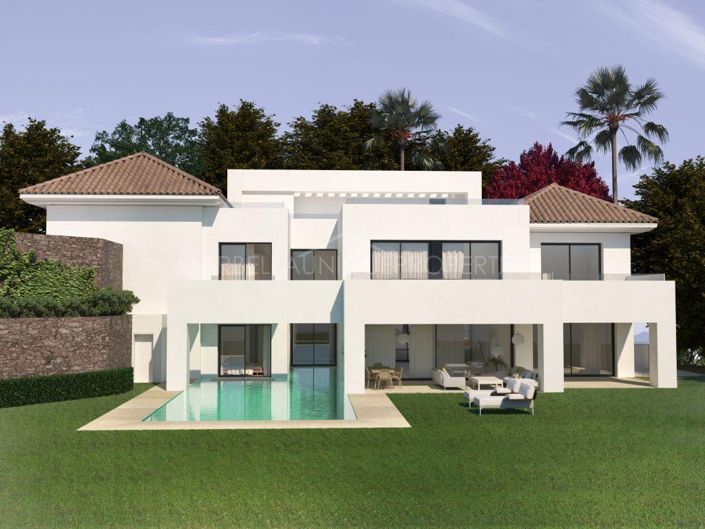 A fantastic plot with villa project in El Paraiso Alto