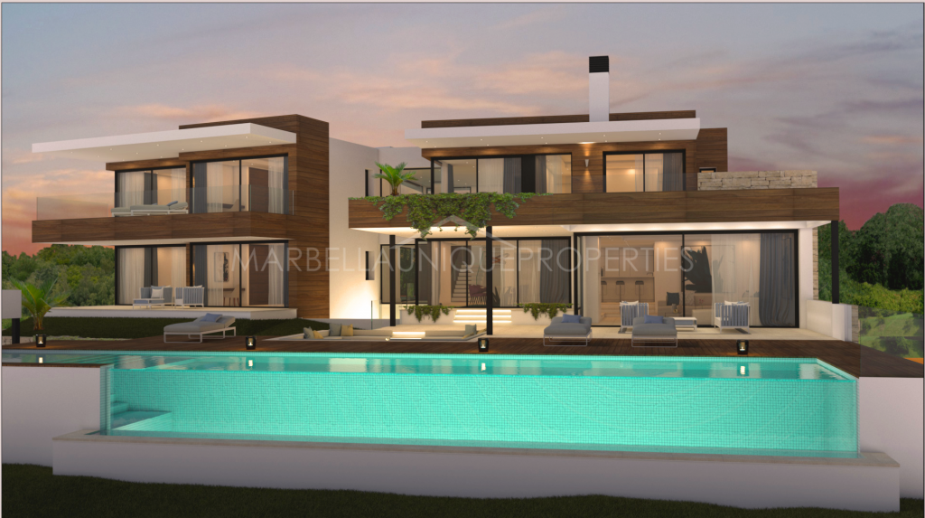 Spectacular family villa project  for sale in Los Flamingos