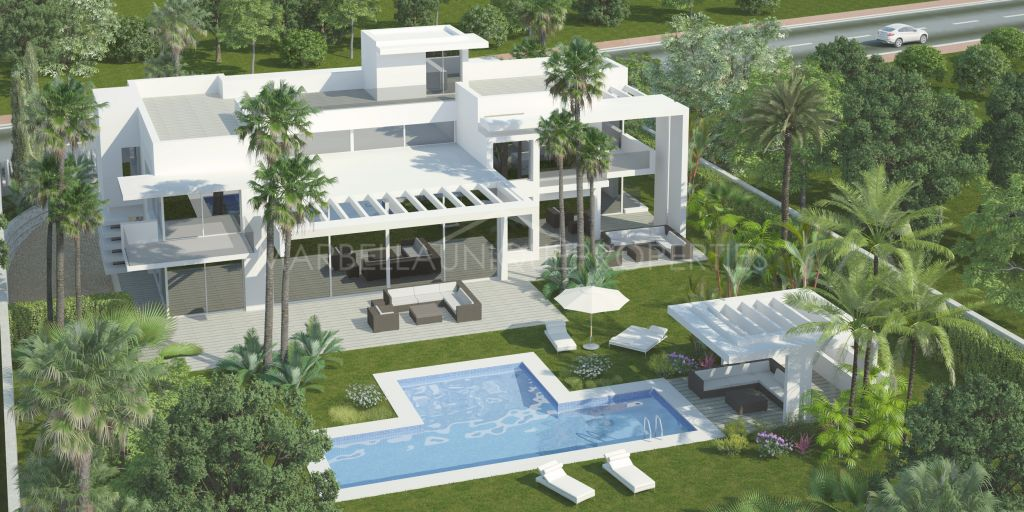 Brand new exclusive villa for sale at Guadalmina Baja