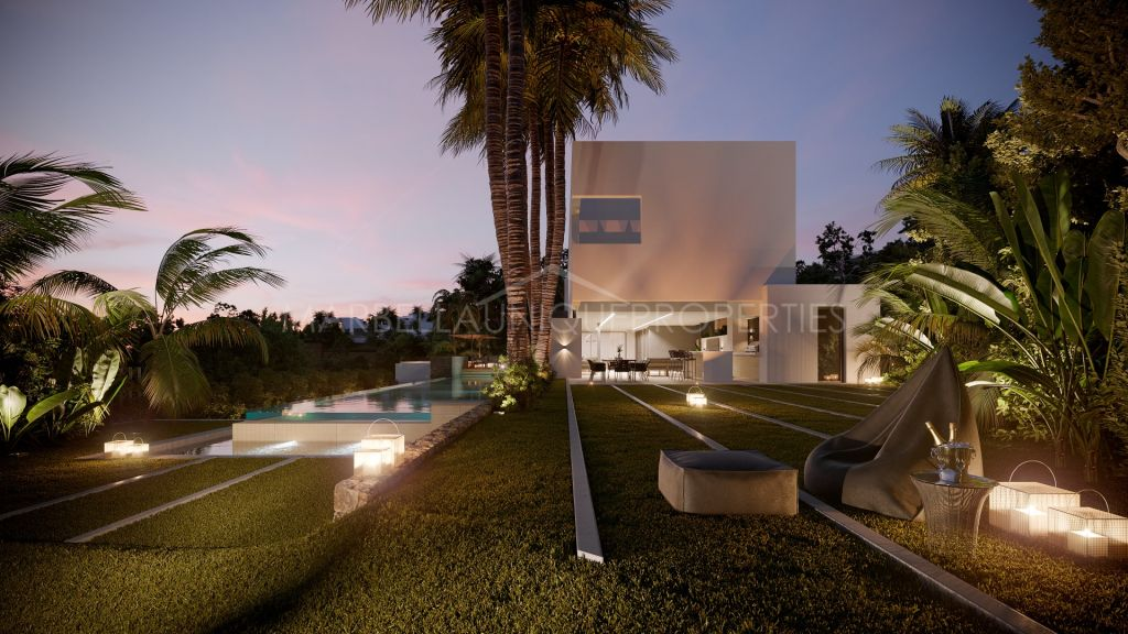 Stylish contemporary 4 bedroom villa in La Alquería, Benahavís