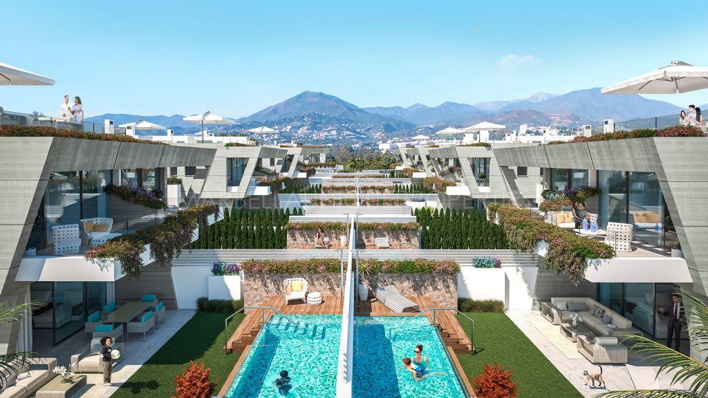Espectacular ubicación junto a la playa, villas adosadas de 3 dormitorios cerca de Puerto Banús