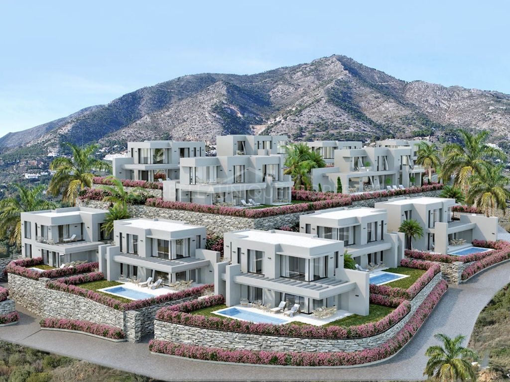 Modern 4 bedroom villas in Mijas Pueblo
