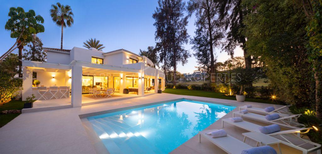 Luxury modern villa in the best location in Nueva Andalucia
