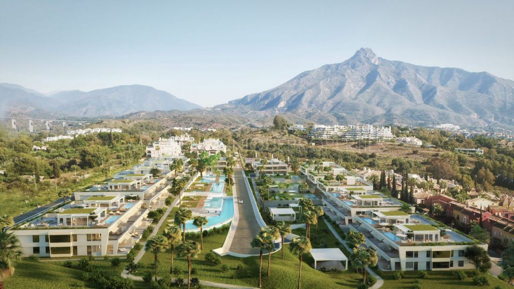 A unique residential complex on Golden Mile, Marbella