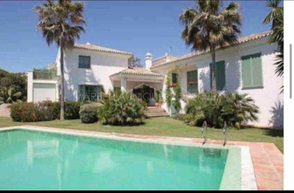 Villa  for rent in  Guadalmina Baja