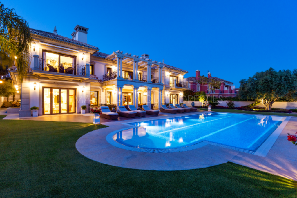 Stunning villa in one of the finest addresses in Marbella