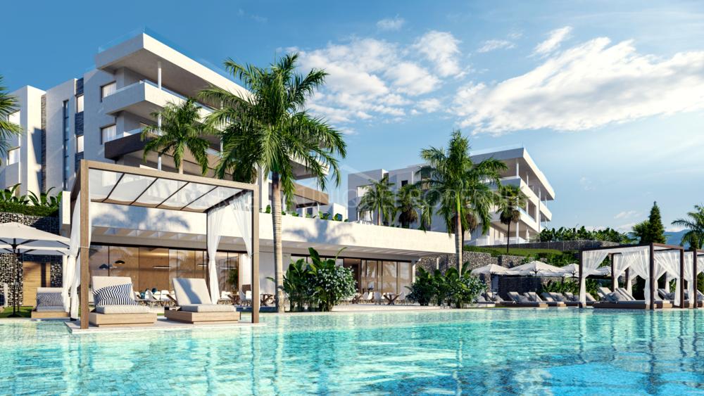 Nueva promocion de apartamentos, casas adosadas y villas en Santa Clara, Marbella