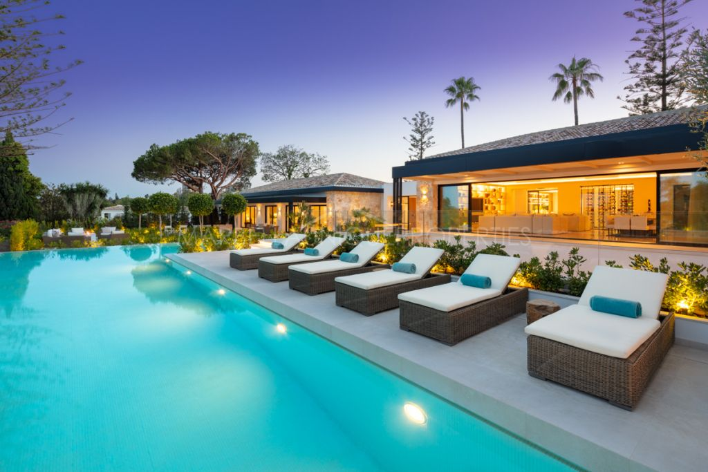 Villa de estilo mediterráneo en Nueva Andalucia