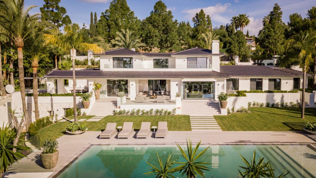 Marbella East, Reform of a former Andalusian style villa, privacy and panoramic sea views at its best
