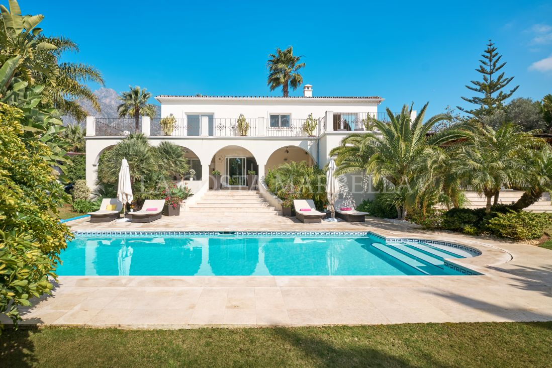 Marbella Golden Mile, Spectacular Villa in the heart of Nagüeles