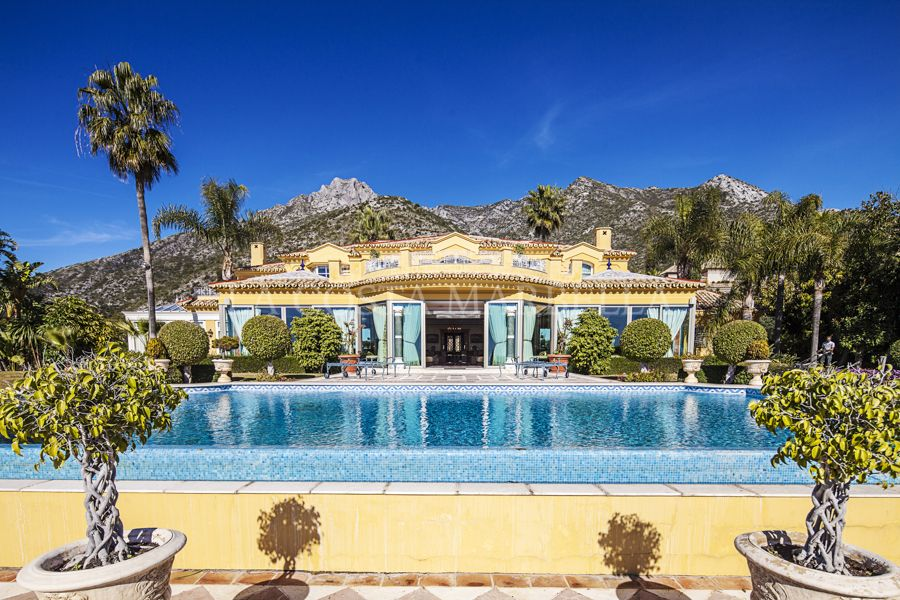 Marbella Golden Mile, LUXURY MANSION WITH SEA VIEWS FOR SALE IN SIERRA BLANCA, MARBELLA GOLDEN MILE