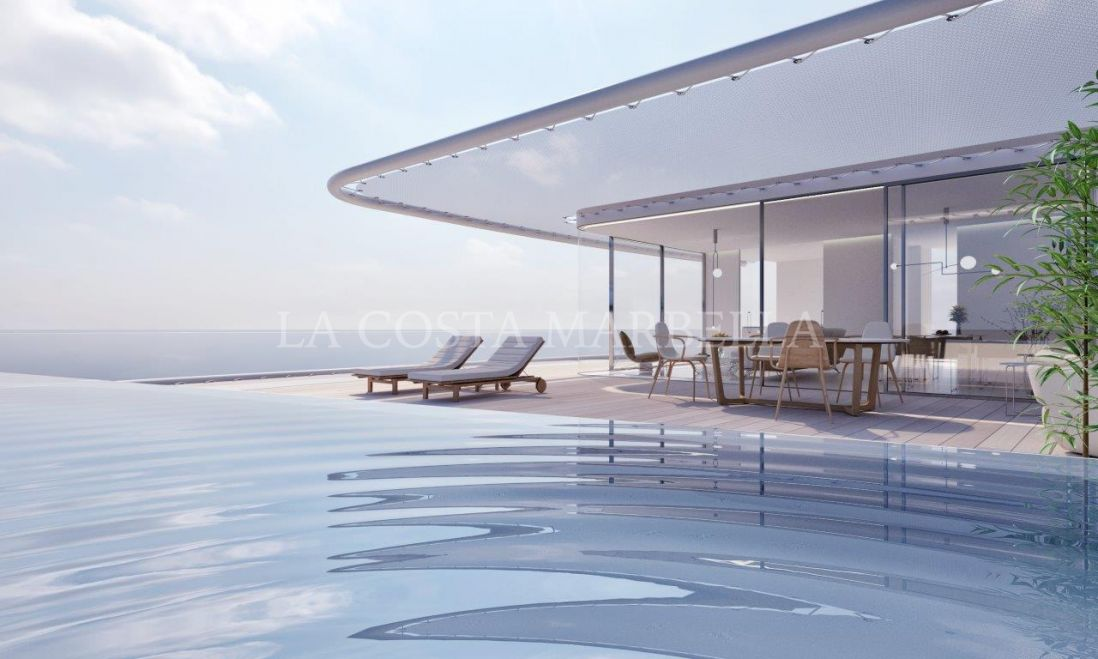Estepona, THE EDGE, LUXURY OFF PLAN CONTEMPORARY APARTMENTS, BEACHFRONT - COMPELETION FORECAST SPRING 2019