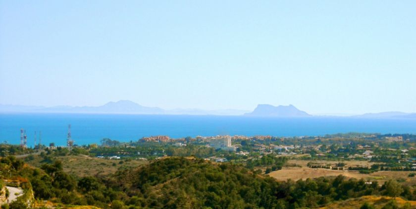 Estepona, Fantastic plots for sale in La Panera in Estepona with spectacular panoramic views