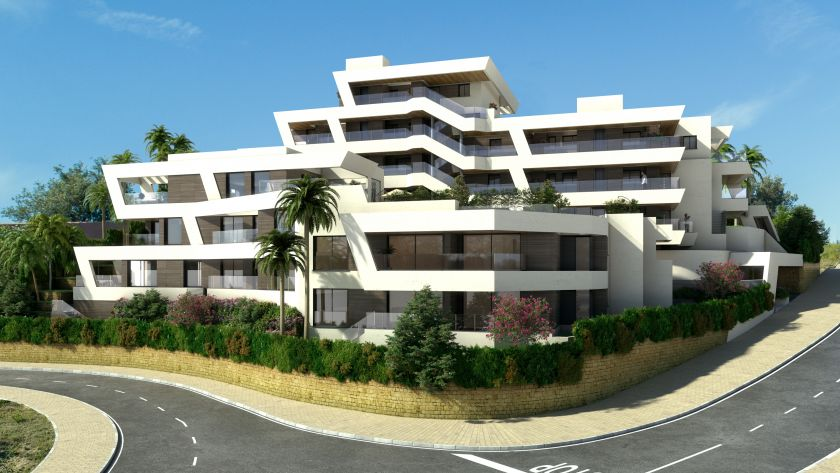 Marbella East, Project for new luxury residential complex in Rio Real in Marbella