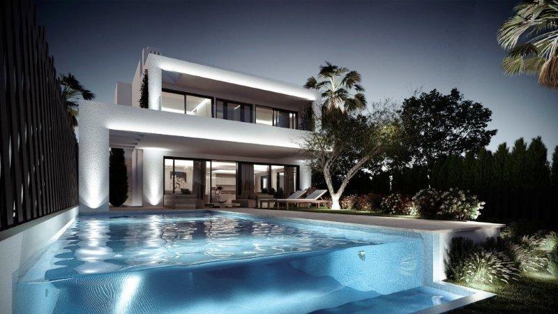Moderne Villen Zu Verkaufen In Marbella Goldene Meile
